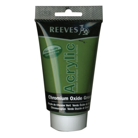 Reeves Acrylics Green Oxide Chromium 75ml tube SPECIAL 30% Off - only 4 available at this price