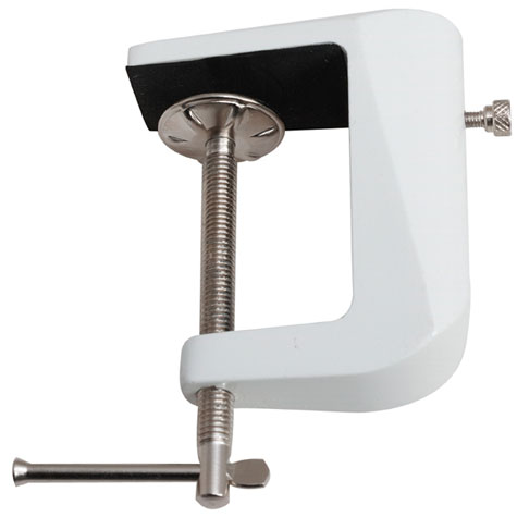 Jastek G-Clamp for Lamps White