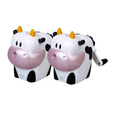 Deli Pencil Sharpener Cow Rotary 0639 Medium EACH SPECIAL 30% Off - only 1 available at this price