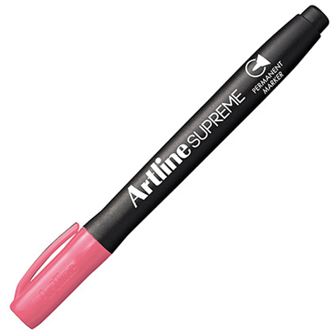 Artline Supreme Permanent Marker Pink SPECIAL 30% Off - only 12 available at this price