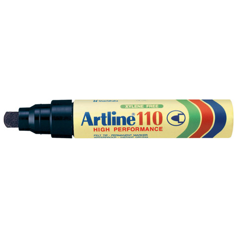 Artline 110 Permanent Marker Black BOX 6 SPECIAL 30% Off - only 10 available at this price