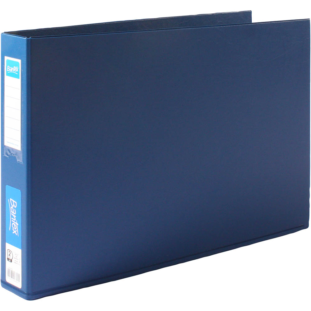 Bantex Landscape Oblong Binder A3 4D 38mm Black SPECIAL 30% Off - only 10 available at this price
