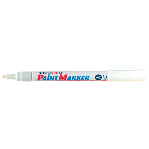 Artline 440XF Paint Marker Fine Bullet Point 1.2mm White SPECIAL 30% Off - only 8 available at this price