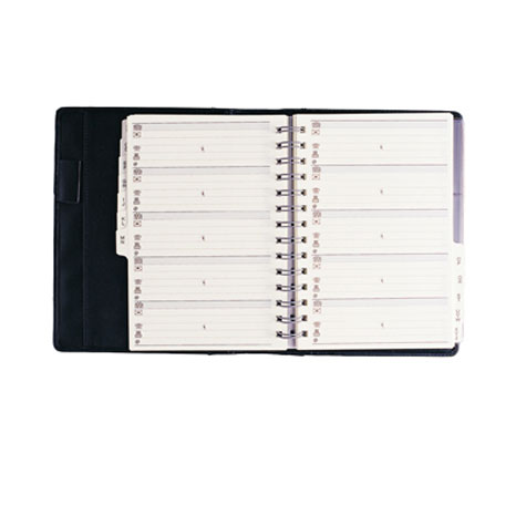 Debden Elite Slim Address Book Black 165.U99 SPECIAL 30% Off - only 1 available at this price
