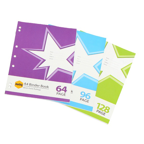 Marbig Star A4 Binder Book 128 Page SPECIAL 30% Off - only 7 available at this price