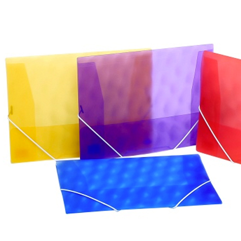 Marbig Dox File A4 Polypropylene Shimmer Purple EACH SPECIAL 30% Off - only 3 available at this price