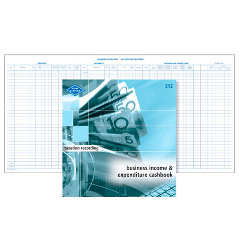 Zions 212 Business Income & Expenditure Recorder