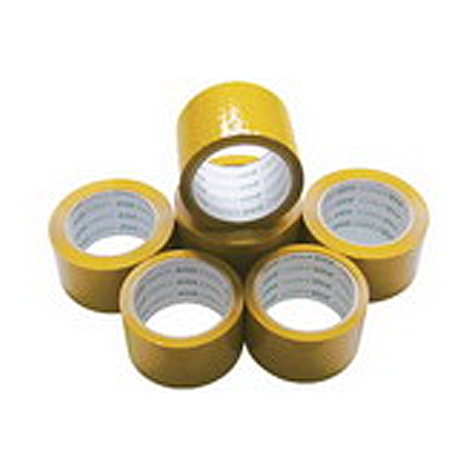 Deli Packaging Tape 30238 Yellow 48 x 55m EACH