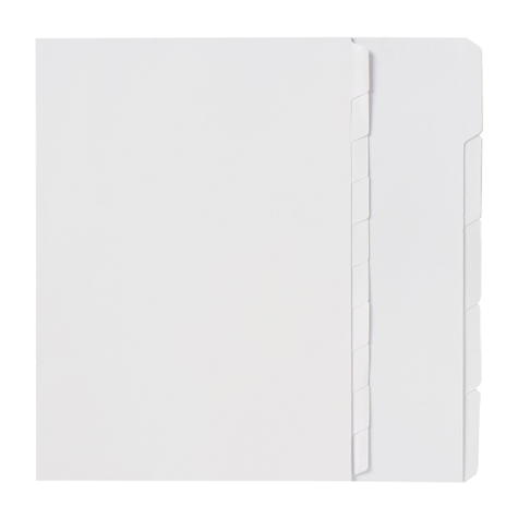 Marbig Manilla A4 Unpunched Dividers 10 Tab EACH SPECIAL 30% Off - only 25 available at this price