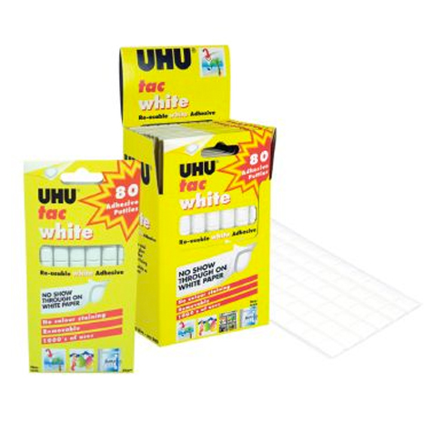 UHU UTac 80's White 50gm