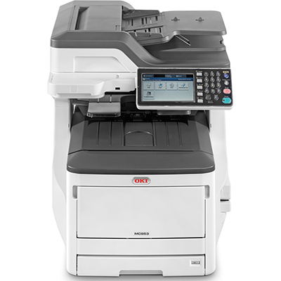 OKI MC853DN COLOUR MULTIFUNCTION PRINTER