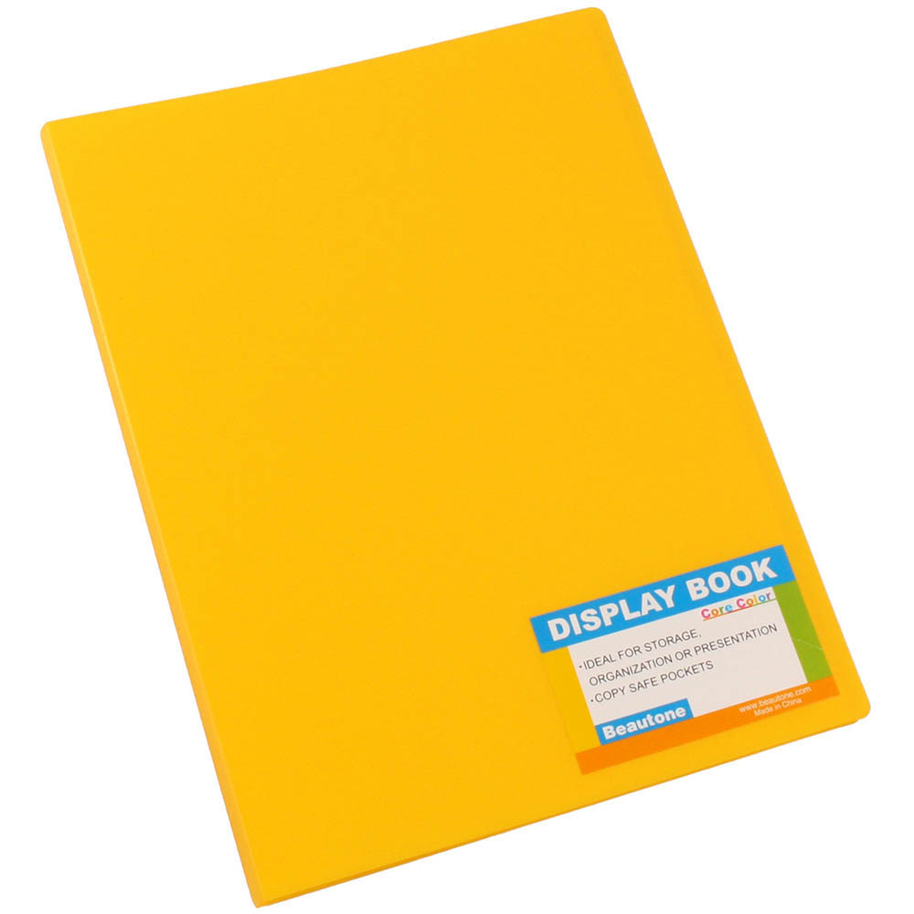 Beautone Tropical Display Book 20 Pocket Mango SPECIAL 30% Off - only 4 available at this price