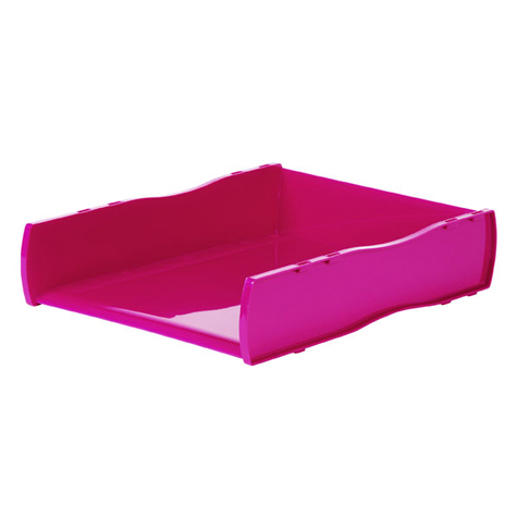 Esselte WOW Document Tray Pink SPECIAL 30% Off - only 2 available at this price