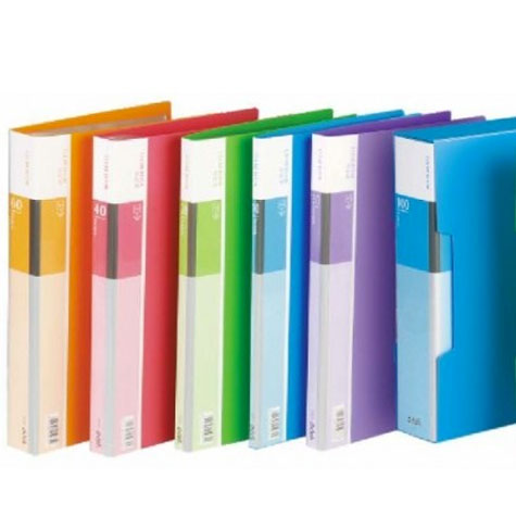 Deli Display Book 5035 (Clear Book) A4 60 Pocket Refillable EACH