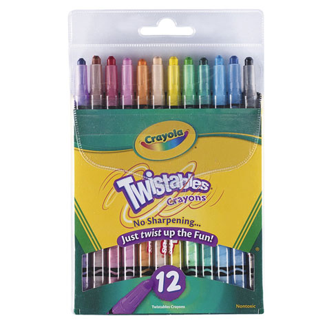 Crayola Twistable Crayons PACK 16 SPECIAL 30% Off - only 15 available at this price