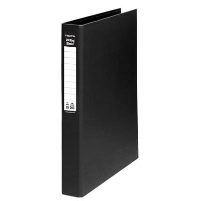 ColourHide A4 PE Binder 25mm 2D Ring Blue SPECIAL 30% Off - only 9 available at this price