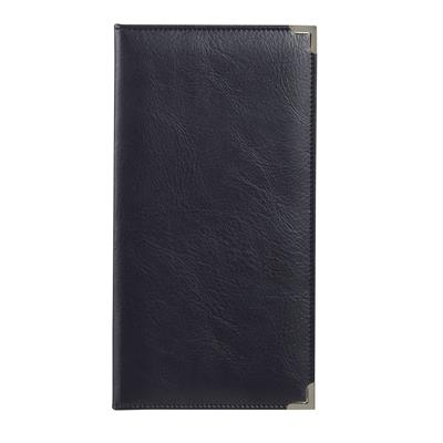 Spirax Bill Holder and Cover Black