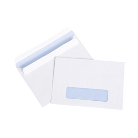Cumberland C6 Envelopes Self Seal Window Face Secretive 114 x 162mm BOX 500 SPECIAL 30% Off - only 17 available at this price