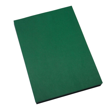 Cumberland Binding Covers Leathergrain 280 GSM A4 Dark Green PACK 100 SPECIAL 30% Off - only 1 available at this price