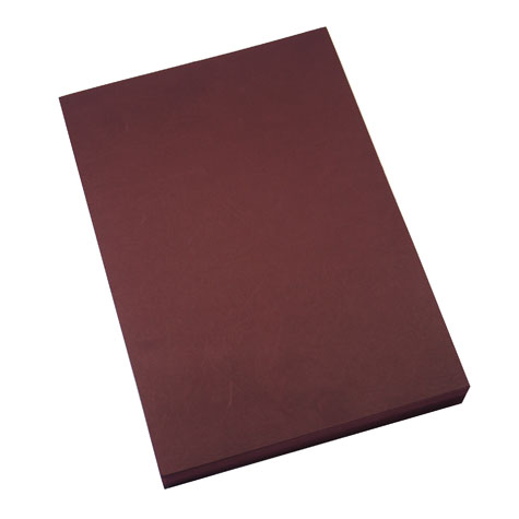 Cumberland Binding Covers Leathergrain 280 GSM A4 Burgundy PACK 100 SPECIAL 30% Off - only 4 available at this price