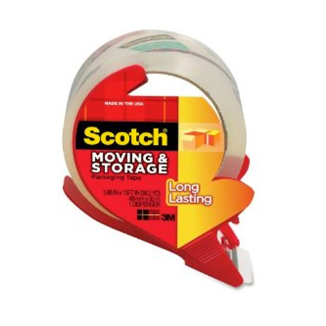 Scotch 3651C Packaging Tape with Dispenser 48mm x 35m SPECIAL 30% Off - only 9 available at this price