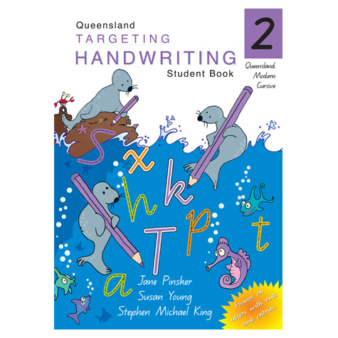 Targeting Handwriting Queensland Year 2 SPECIAL 30% Off - only 1 available at this price