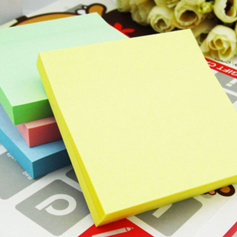 Deli y Notes 7737 Pastel 76 x 76mm Assorted colours 100 Sheets