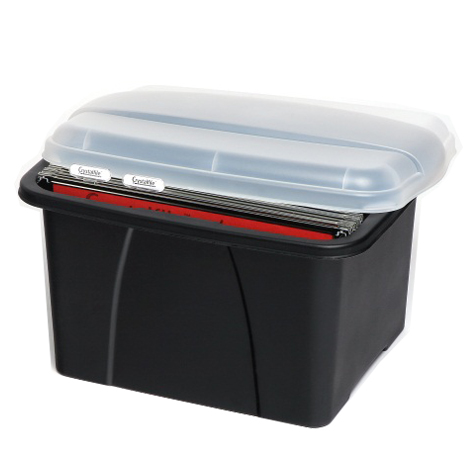 Crystalfile Enviro Porta Box with 10 Files SPECIAL 30% Off - only 5 available at this price