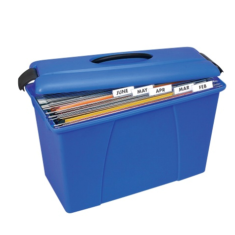 Crystalfile Carry Case Blue SPECIAL 30% Off - only 4 available at this price