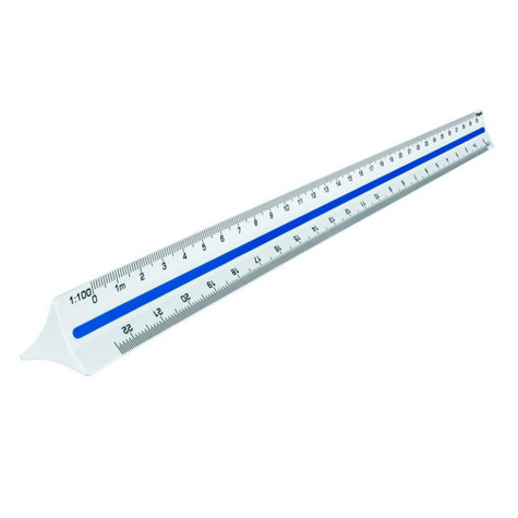 Maped Scale Ruler 1:20 1:125 SPECIAL 30% Off - only 3 available at this price