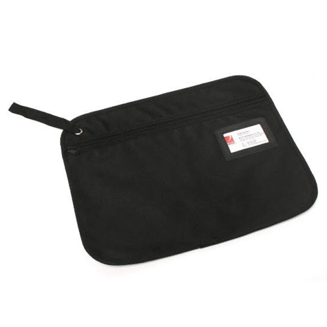 Marbig Convention Satchel Zippered Fabric Black SPECIAL 30% Off - only 10 available at this price