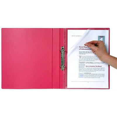 BINDERMATE LETTER FILE A4 CLEAR