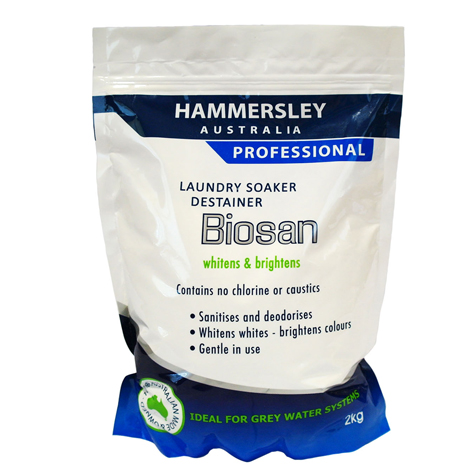 Biosan Laundry Destainer & Soaker 2kg SPECIAL 30% Off - only 14 available at this price