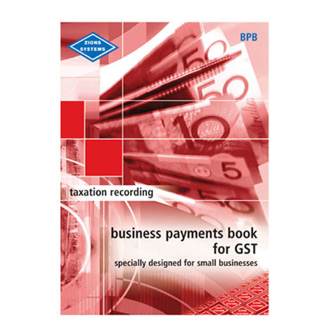 Zions BPB Business Payments Book Red