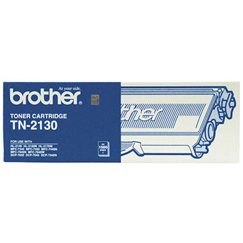 BROTHER TN-2130 MONO LASER TONER CARTRIDGE BLACK