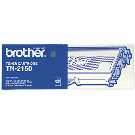 BROTHER TN-2150 MONO LASER TONER CARTRIDGE BLACK