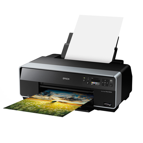 Epson Stylus Photo R3000 9 Cartridge Ink System Printer