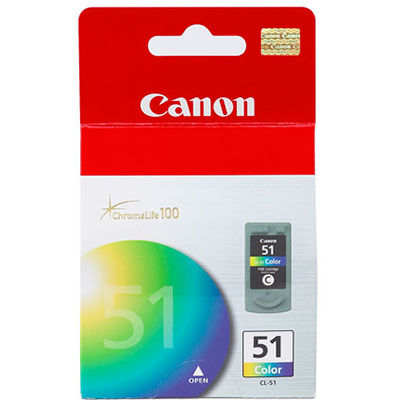 CANON CL51 INK CARTRIDGE HIGH YIELD FINE COLOUR