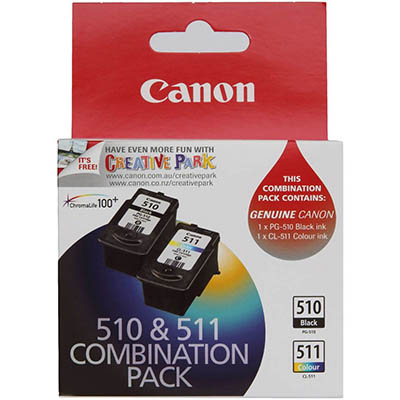 CANON PG510/CL-511 INK CARTRIDGE PACK 2