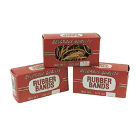 Rubber Bands No 64 100gm BOX SPECIAL 30% Off - only 2 available at this price