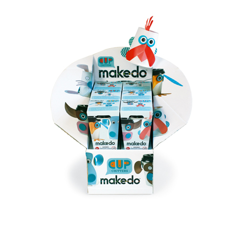 Makedo Studio Cup Critters UNIT 12 SPECIAL 30% Off - only 1 available at this price