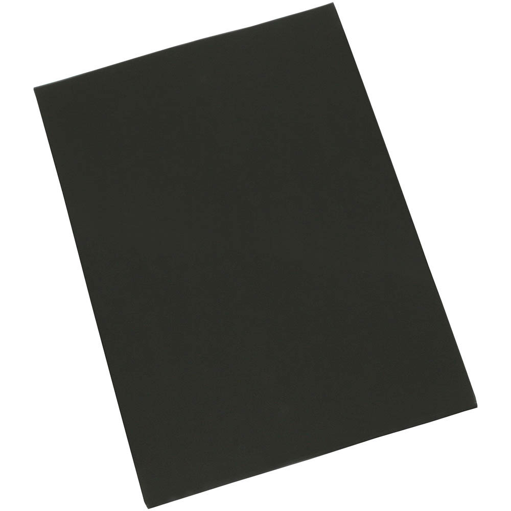 Cumberland Colourful Cardboard 510 x 640mm 200gsm Black PACK 50 SPECIAL 30% Off - only 8 available at this price