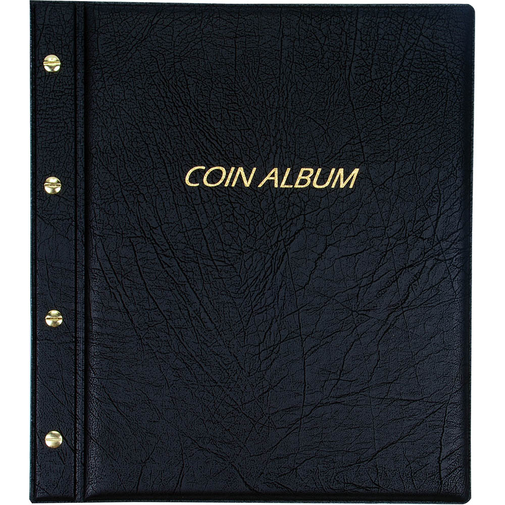 Cumberland Coin Album CM11 PVC Padded Cover Refillable 285 x 255mm
