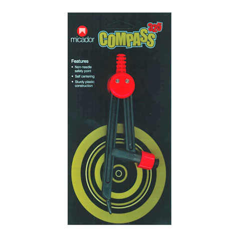 Micador 325 Plastic Compass Selfcentering SPECIAL 30% Off - only 11 available at this price