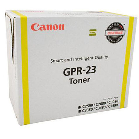 CANON GPR23 TG35 COPIER TONER YELLOW