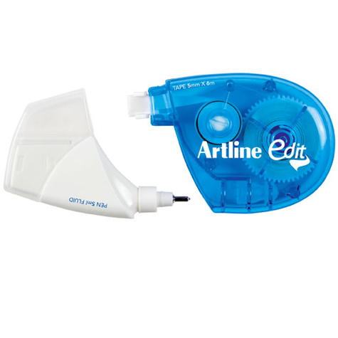 Artline Edit Twin Correction Fluid and Tape SPECIAL 30% Off - only 2 available at this price