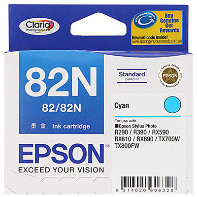 EPSON 82N INKJET CARTRIDGE CYAN
