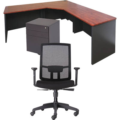 RAPIDLINE EXECUTIVE DESK PACKAGE