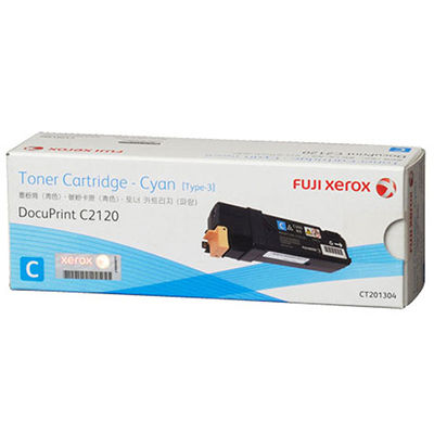 FUJI XEROX DOCUPRINT CT201304 TONER CARTRIDGE CYAN