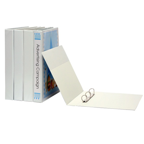 Marbig PVC Insert Binder Portrait A3 3 D 32mm White SPECIAL 30% Off - only 1 available at this price